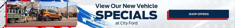 New Specials | May