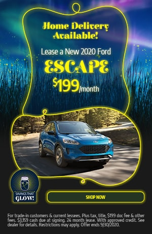 Lease a New 2020 Ford Escape