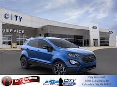 New 2020 Ford EcoSport SES SUV for sale in Columbia City, IN