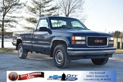 1998 GMC C/K 1500 SL Wideside Cab/Chassis