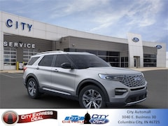 New 2020 Ford Explorer Platinum SUV for sale in Columbia City, IN