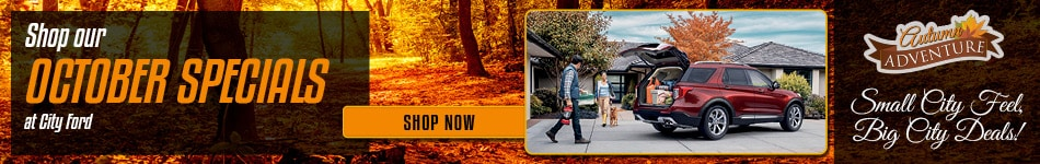 October Specials at City Ford