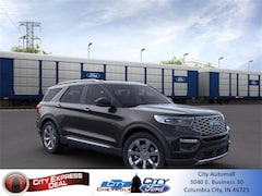 New 2021 Ford Explorer Platinum SUV for sale in Columbia City, IN