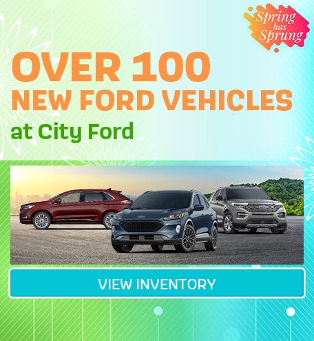 Over 100 New Vehicles in Stock | April