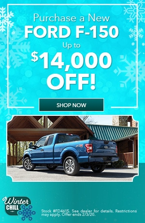 Ford F-150 Purchase Offer - January