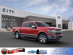 New 2020 Ford F-150 King Ranch Truck for sale in Columbia City, IN