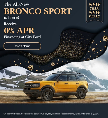 The All New Bronco Sport is Here!