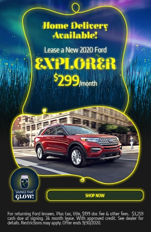 Lease a New 2020 Ford Explorer