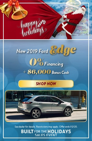 2019 Ford Edge - December Offer
