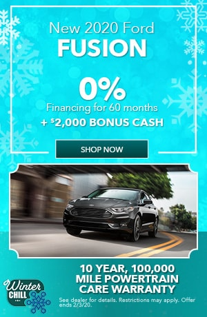 2020 Ford Fusion - January Offer