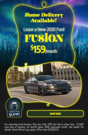 Lease a New 2020 Ford Fusion