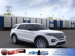 New 2021 Ford Explorer Limited SUV for sale in Columbia City, IN