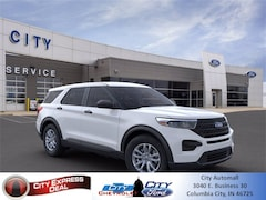 New 2021 Ford Explorer Base SUV for sale in Columbia City, IN