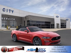 New 2020 Ford Mustang GT Premium Convertible for sale in Columbia City, IN