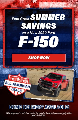 2020 Ford F-150 - July Offer
