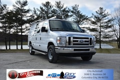 Used 2014 Ford E-250 Commercial Cargo Van for sale in Columbia City