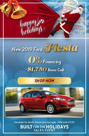 2019 Ford Fiesta - December Offer