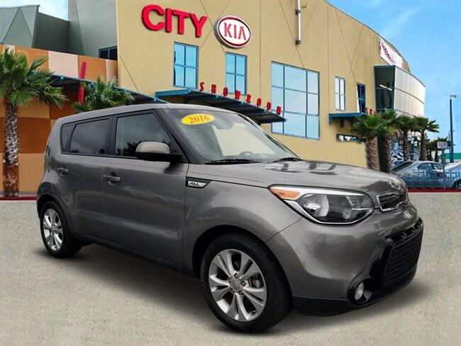 2016 Kia Soul + FWD Hatchback