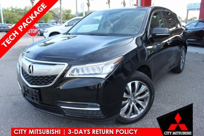 Used 2016 Acura MDX MDX SH-AWD with Technology and Entertainment Packages SUV For Sale in Jacksonville, FL