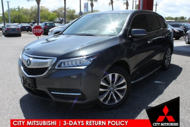 Used 2016 Acura MDX MDX SH-AWD with Technology and AcuraWatch Plus Packages SUV For Sale in Jacksonville, FL