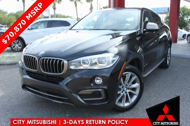 2015 BMW X6 sDrive35i Sports Activity Coupe