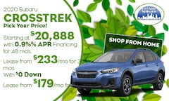 2020 Subaru Crosstrek Offer