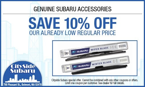 Save 10% Off Subaru Accessories