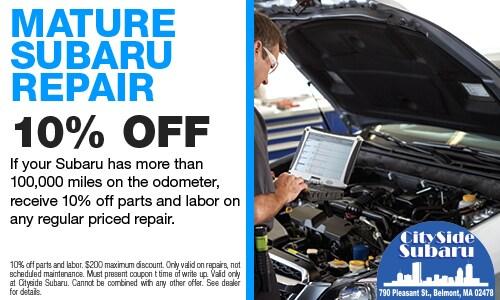Mature Subaru Repair