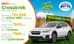 2020 Subaru Crosstrek July Offer