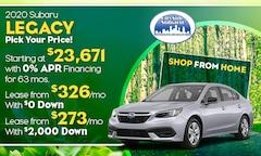 2020 Subaru Legacy Offer