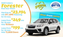 2020 Subaru Forester Offer
