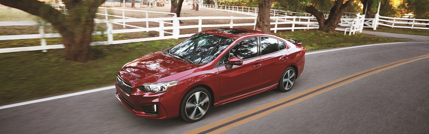 Compare 2018 Impreza vs the Honda Civic and Toyota Corolla