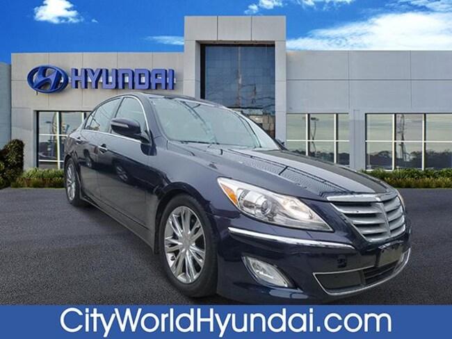 2012 Hyundai Genesis 3.8 (A8) Sedan