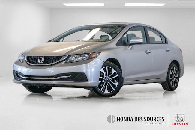 2015 Honda Civic EX Bluetooth, Caméra, Mags, Bouton de démarrage Sedan