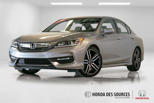 2016 Honda Accord Sport Bluetooth, Caméra, Mags, Bouton de démarrage Sedan