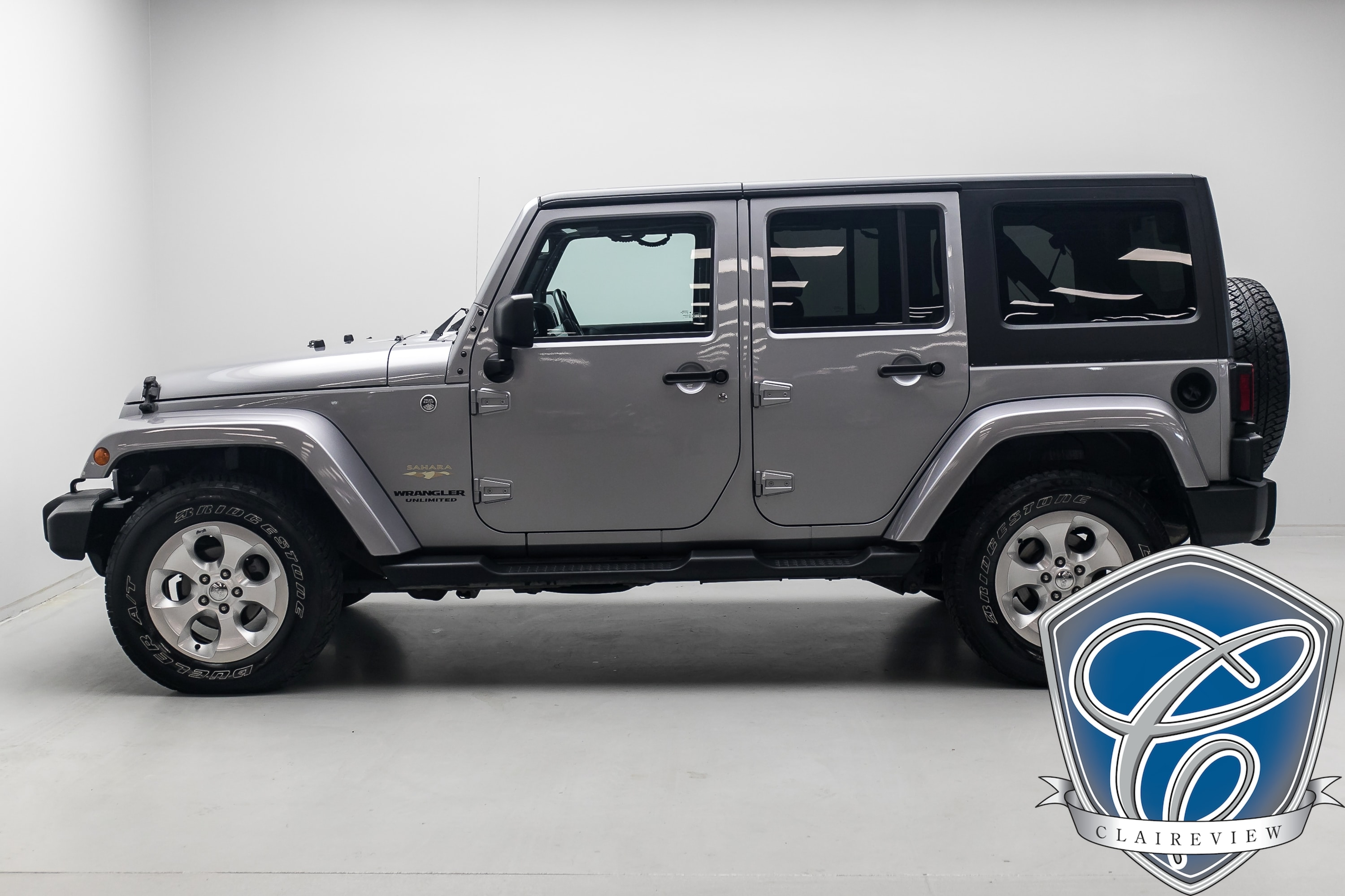 2015 Jeep Wrangler Unlimited Sahara Soft Top w/ Navi, Bluetooth & Leather VUS