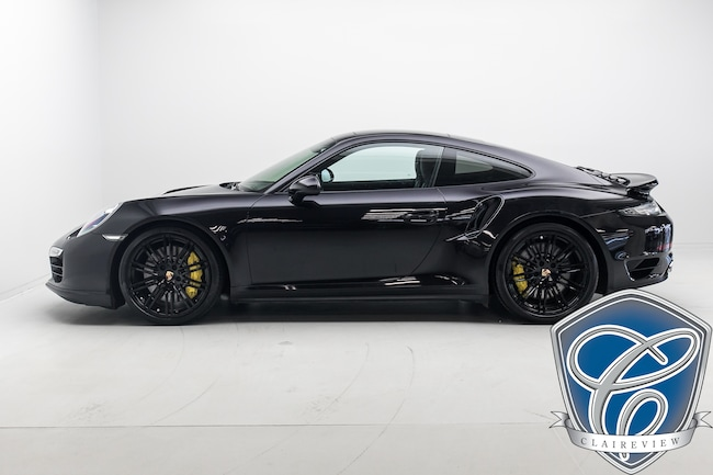 2014 Porsche 911 Turbo Coupe, PDK, NAV, 20'' Wheels Coupe