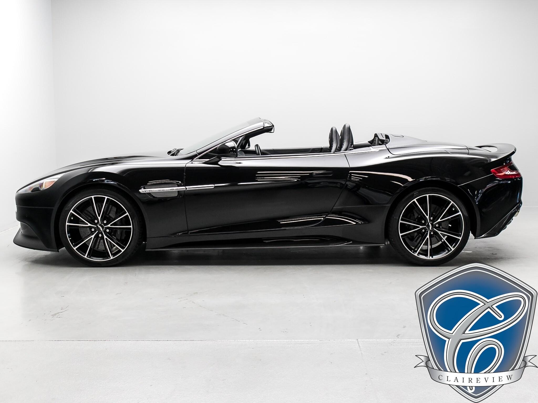 2014 Aston Martin Vanquish Cabriolet, V12 5.9L at 568 HP Cabriolet