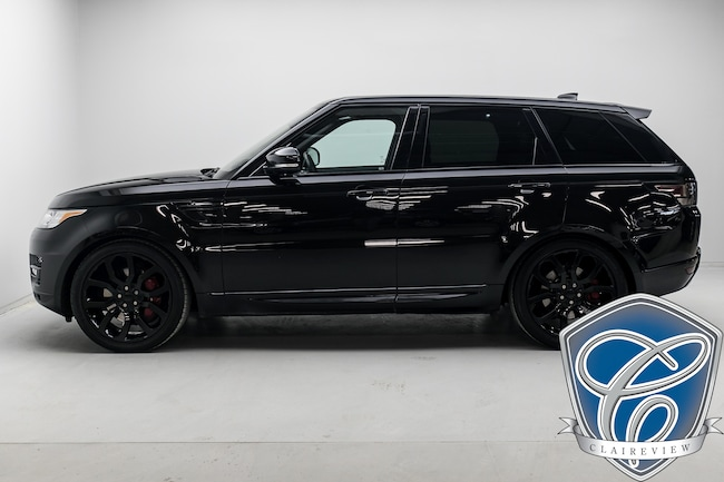 2017 Land Rover Range Rover Sport V8 Supercharged AWD Dynamic Package, 22in Wheels SUV