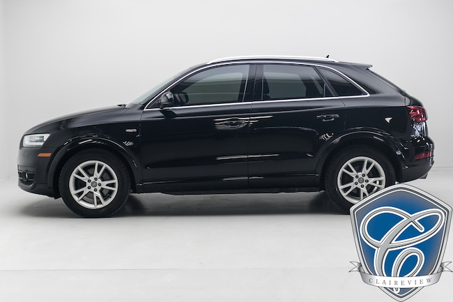 2015 Audi Q3 2.0T Progressiv Quattro AWD, Leather, Pano Sunroof SUV
