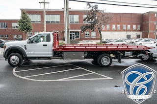 2018 Ford F-550 CHASSIS CAB XLT Powerstroke w/ 19' Flat Bed 10, 000lbs Truck Regular Cab