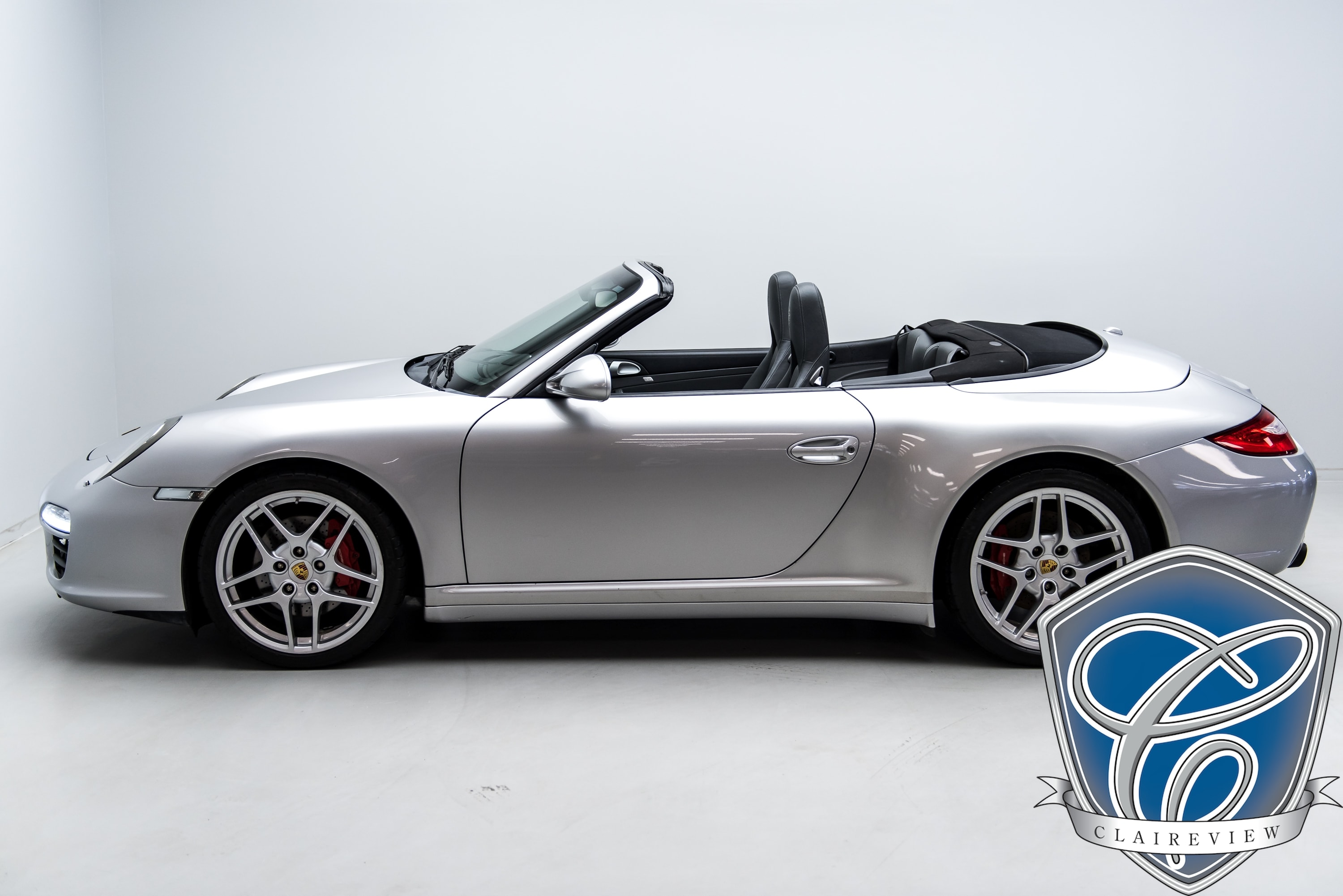 2009 Porsche 911 Carrera 4S Cab, 6 Speed, Sport Chrono, Bose Convertible
