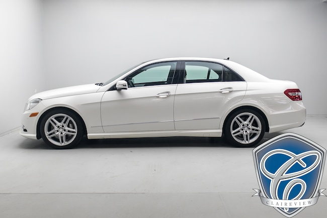 2013 Mercedes-Benz E-Class 550 4MATIC with Pano, Leather, Navi, Keyless Sedan