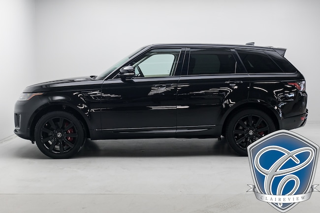 2018 Land Rover Range Rover Sport Supercharged Dynamic, Vision Assist & Climate Pkg SUV