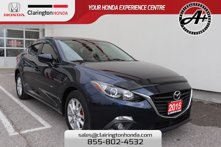 2015 Mazda Mazda3 GS, No Accidents, 1 Owner, Local Trade-in!!! Sedan