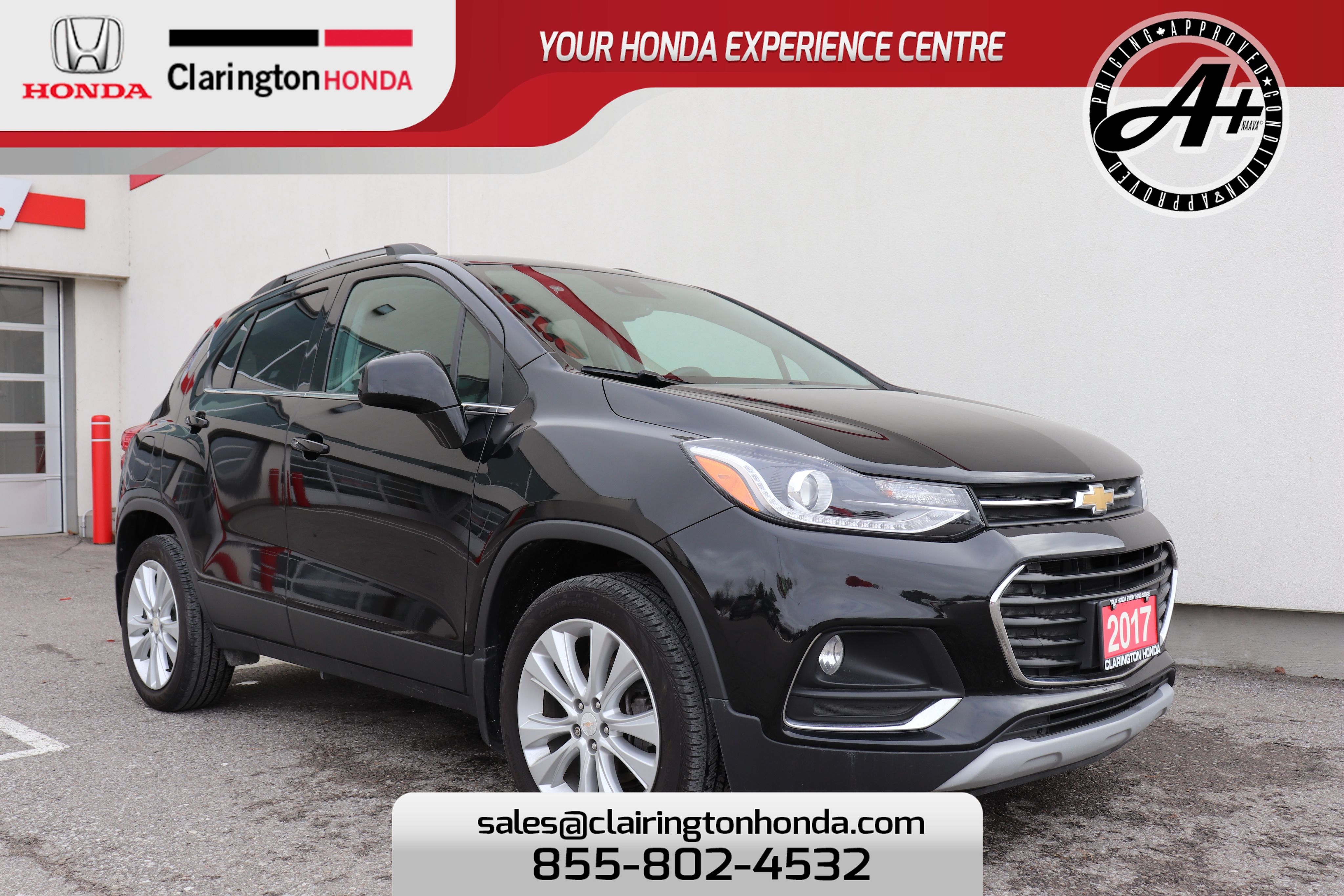 2017 Chevrolet Trax, LOW FINANCING RATE OFFERED! TAKE ADVANTAGE! Premier SUV