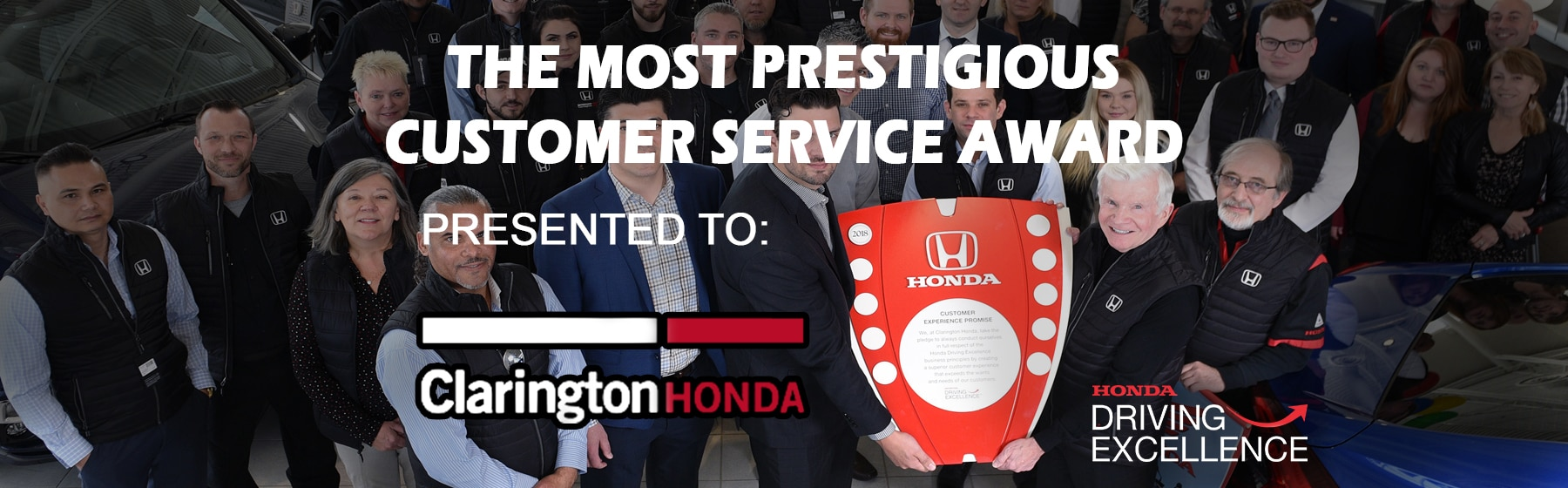 Honda Drivers Excellence Award