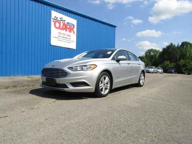 Premier Ford Columbus Ms >> Used 2018 Ford Fusion Hybrid For Sale At Clark Ford Vin