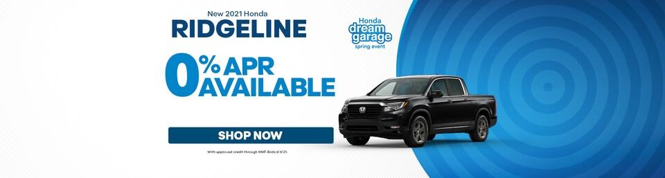 New 2021 Honda Ridgeline Sale