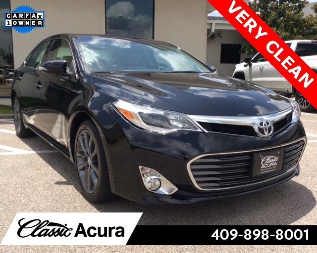 Used 2015 Toyota Avalon For Sale at Classic Acura | VIN